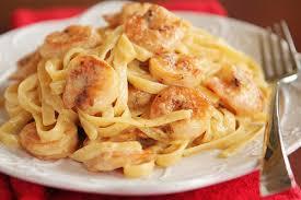 recette de pâtes aux crevettes recettes diététiques