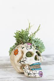 Easy Sugar Skull Day Of by Easy Halloween Skull Centerpiece Sugar And Charm Sweet Recipes