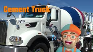 100 Cement Truck Video Blippi 1 Fan Toddler Song And Video For Kids