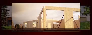 maison bois lamelle colle maison ossature bois lamellé collé maison en bois lamellé collé à