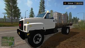100 Top Kick Truck GMC TOPKICK FLATBED V10 FS 17 Farming Simulator 17 Mod FS 2017 Mod