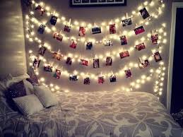 Christmas Lights For Room Decor Tumblr Rooms Picture Note Bedroom Wall Decorating Living With Grey