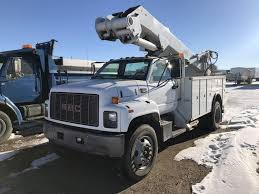 100 Service Truck With Crane For Sale 2000 GMC TopKick C7500 Single Axle Mechanic