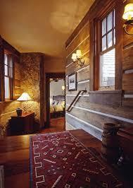 Western Homestead Ranch Hallway Designer Lynne Barton Bier