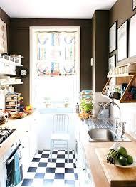 Narrow Kitchen Ideas Pinterest by Narrow Kitchen Design Ideas Home Small Storage Pinterest