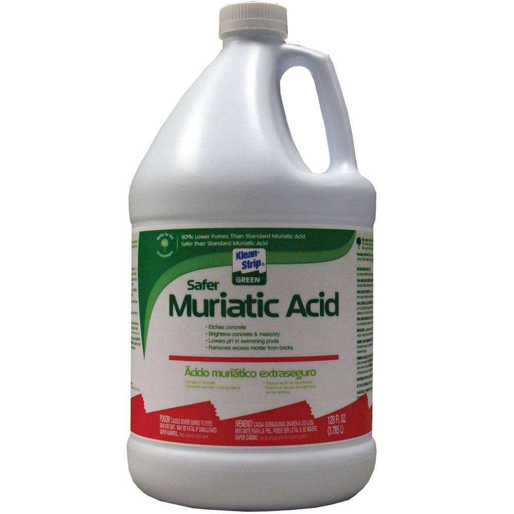 Klean Strip Green Muriatic Acid - 1 gal