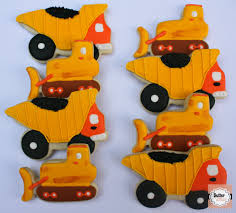 100 Dump Truck Cookies Bulldozer And Construction Party Butter And