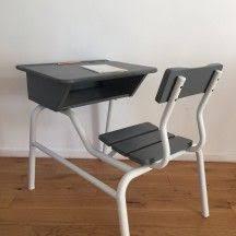 bureau chaise enfant bureau d enfant gris vintage classique bureau enfant gris