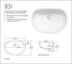 831 corian sink for tops greater than 22 inch depth bathroom