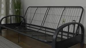Kebo Futon Sofa Bed Assembly by Aiden Futon Frame Youtube