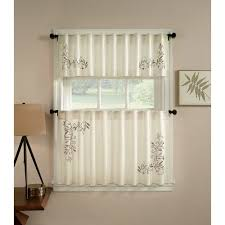 CHF You Scroll Leaf Kitchen Curtains Set Of 2