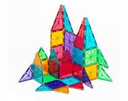 magna tiles 100 target magna tiles clear colors 32 set magnatiles