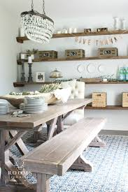 19 Dining Room Shelf Ideas Floating Shelves On Open Kitchen Inspiration Industrial