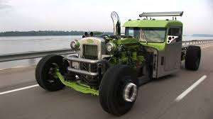 100 Rat Rod Semi Truck BAD A Custom Peterbilt HOT ROD SEMI YouTube