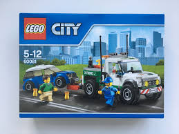 LEGO City Pickup Tow Truck Set 60081