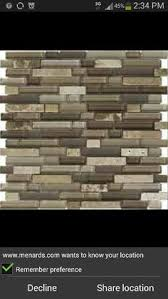 Stone Tile Backsplash Menards by Delfino Longhorn Glass Mosaic Wall Tile 12