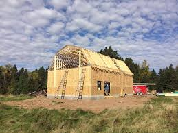 Oakhold Farmhouse Brewery under construction outside Duluth