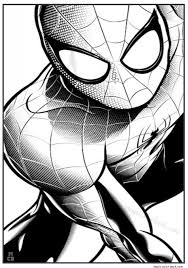 Spiderman Coloring Pages Free 6
