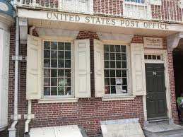 1st U S Post fice Philadelphia1