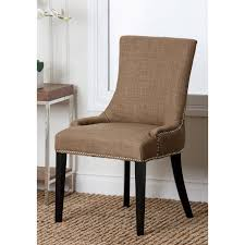 JACKSON FABRIC NAILHEAD Trim Dining Chair - Gray Details About Set Of 2 Classic Parson Ding Chairs Living Room Nailhead Trim Tall Backrest Tan Parsons Merax Stylish Tufted Upholstered Fabric With Detail And Solid Wood Legs Beige Kaitlin Transitional Style Nailhead Trim 7 Piece Ding Set Chair Ginnys Armless Abbyson Sienna Leather Hooker Fniture Sorella Side Turned Lionel Modern Grey Wing Back Ambrosia Rustic Bar Wilson Home Ideas How To Make Black