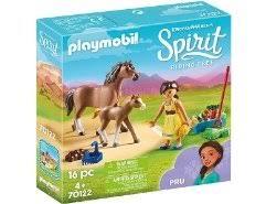 playmobil spirit pru mit pferd und fohlen 70122