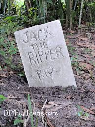Funny Halloween Tombstones For Sale by Halloween Craft Diy Concrete Tombstones