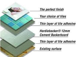 hardie backer 500 cement board tile choice