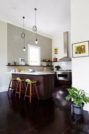 moderne offene küche ohne oberschränke bild kaufen