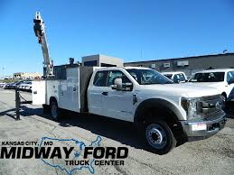 New 2018 Ford F-550 Crane Body For Sale At Midway Ford Truck Center ... Midway Ford Truck Center Dealership Kansas City Mo All New F150 Powerstroke Diesel 2017 Commercial Youtube 42018 Gmc Sierra Stripe Hood Decal Vinyl Graphic 64161 Car And Used 2016 E350 16ft Box Van For Sale At 2004 F350 Spray Tank Lawnsite 2018 Transit350 Hd Kuv Parts Dealer Vanity