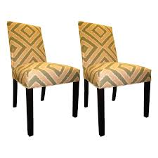 Shop Nouveau Patterned Dining Chairs (Set Of 2) - On Sale - Free ... Set Of 4 Quality Art Nouveau Golden Oak High Slat Back Ding Chairs 554 Art Nouveau Ding Table And Chairs 3d Model Vintage 6 Antique French 1900 Walnut Nailhead Set 8 Edwardian Satinwood Beech Four Art Nouveau Louis Majorelle Ding Chairs Jan 16 2019 Room And Sale Mid Century Hand Made Game By Terry Bostwick Casa Padrino Luxury Dark Brown Cream 51 X Round In The Unique Timeless Tufted Armchair Chair Blue Velvet Navy 1900s Vinterior