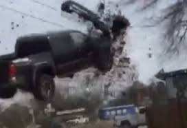 SEE IT: Toyota Tacoma Pulls A 'Dukes Of Hazard' Jump In Louisiana ...