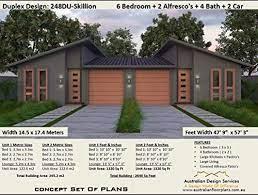 104 Skillian Roof Amazon Com Skillion Duplex Plans Exclusive House Plans Full Architectural Concept Home Plans Includes Detailed Floor Plan And Elevation Plans Duplex Designs Floor Plans Book 2486 Ebook Morris Chris Designs