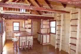 30 X 30 With Loft Floor Plans by Trophy Amish Cabins Llc 12 U0027 X 32 U0027 Xtreme Lodge 648 S F Sugar