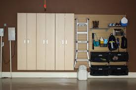diy garage storage them to the wall and hangers will be ready hang