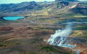 Explosion Crater Graenavatn In Krysuvik SW Iceland Photo Kristjan Saemundsson