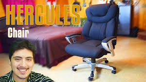 Hercules 500 Lb Office Chair by Hercules Big U0026 Tall Black Fabric Office Chair Build Also A Vlog