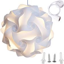 Coolie Lamp Shade Kit by Amazonsmile Lightingsky Ceiling Pendant Diy Iq Jigsaw Puzzle Lamp