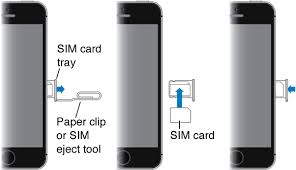 Install the SIM card iPhone iPhone Help