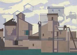 Charles Sheeler 1883 1965 Architectural Cadences 6 1 4 X 9