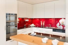 glasrückwand mit blumen motiv kilian küchen