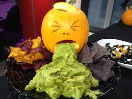 Pinterest Pumpkin Throwing Up Guacamole by 100 Gross Halloween Food Ideas 3 Times The Fun And There