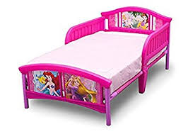 Amazon Delta Children Disney Princess Plastic Toddler Bed Baby
