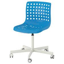 Home Office Desk Chair Ikea skålberg sporren swivel chair blue white ikea