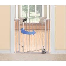summer infant walk thru step to open baby gate silver target