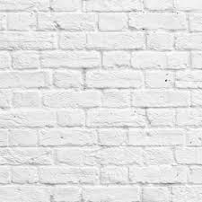White Washed Painted Brick Effect