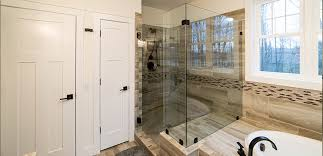 Custom Shower Remodeling And Renovation Walk In Shower Vs Bathtub Resale Value Glass Doctor