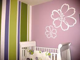 Tree Wall Decor Baby Nursery by Baby Nursery Sweet Girls Room Ideas With Tree Wall Art And Chaise