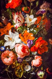 Rachel Ruysch Flowers in a Glass Vase