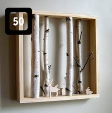 Create A Sweet Diorama Using Tree Branches