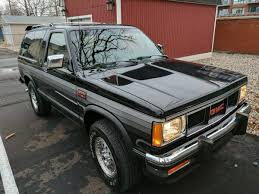 100 Seattle Craigslist Cars Trucks By Owner Rare Rides Is This 1988 GMC S15 Jimmy Worth 15000 The Truth